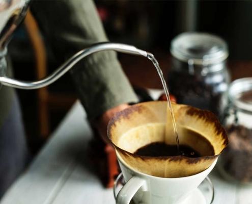 brew bar priprava kave