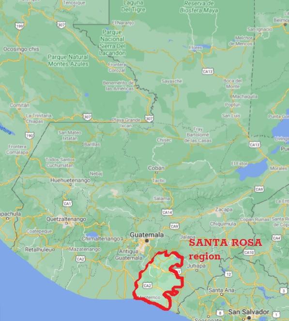 santa rosa regija guatemala
