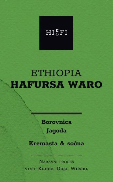 etiopijska kava- ethiopia