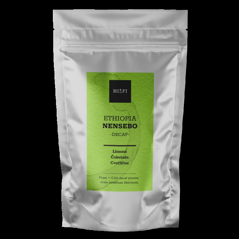 Decaf/brezkofeinska Ethiopia NENSEBO