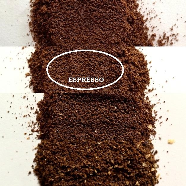 mljevenje za espresso kavu