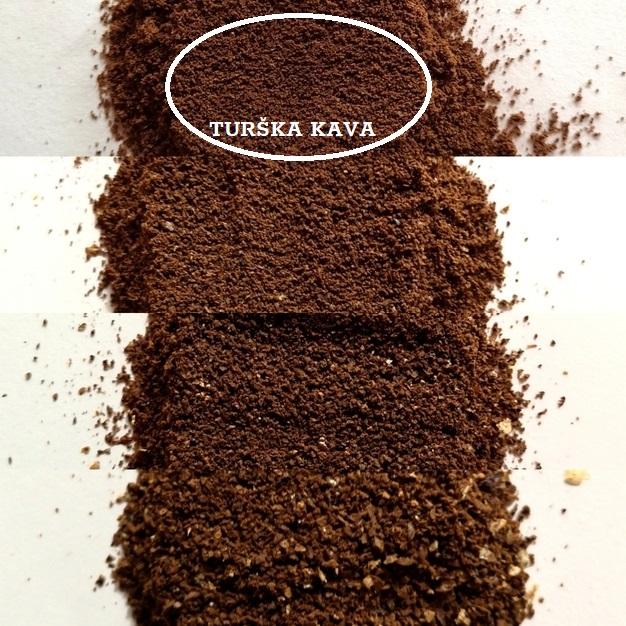 mljevenje za tursku kavu